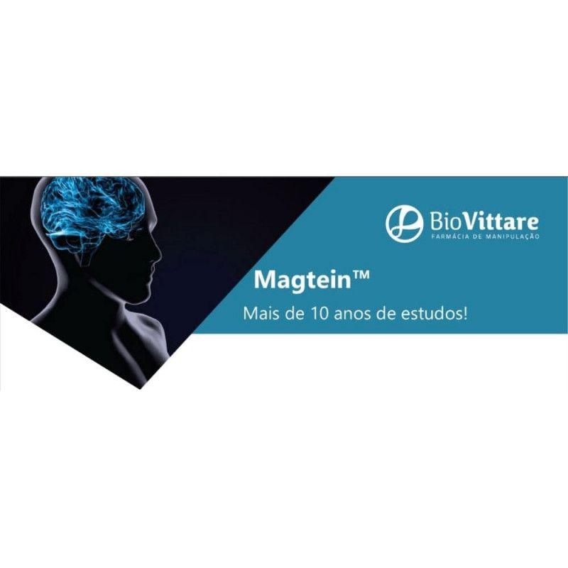 Magtein™ (Magnésio L-Treonato) 500mg 30 Cápsulas – Cérebro e Memória