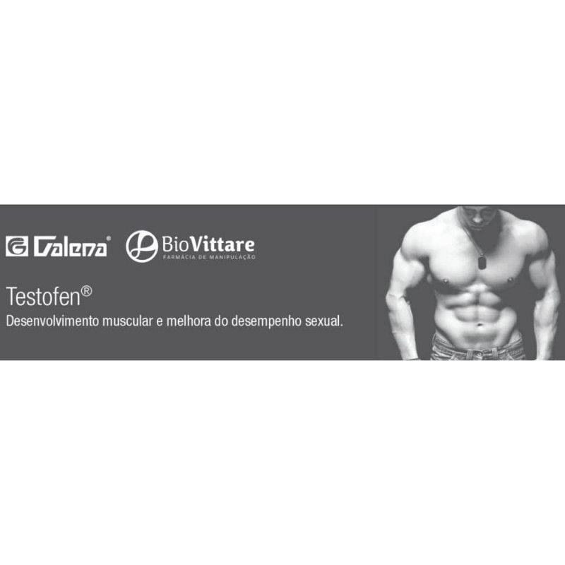 Testofen 300mg 60 Cápsulas - Aumento da Força e Libido Em Homens