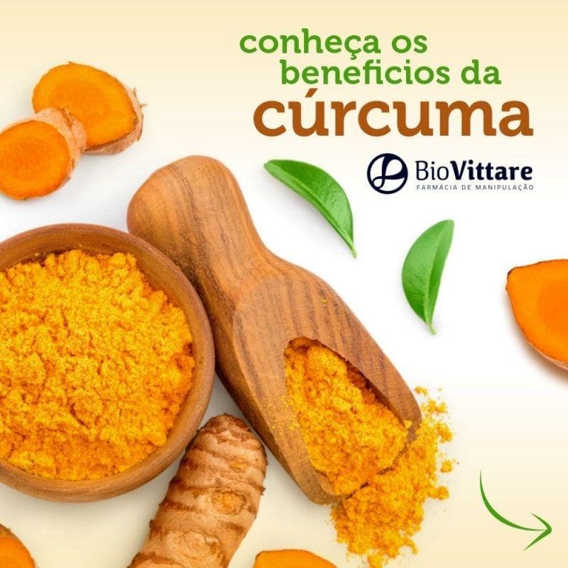 Curcuma Longa (95% Curcumina) 300mg + Piperina 10mg 60 Cápsulas