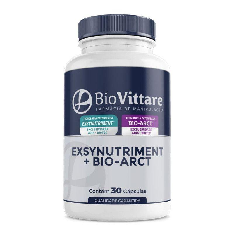 Exsynutriment + Bio Arct (Cápsulas da Beleza) 30 Cáps Com Selo de Autenticidade
