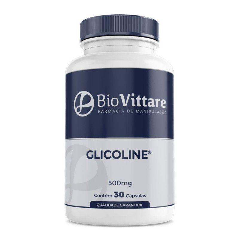 Glicoline 500mg 30 Cápsulas | Redução da Glicemia e do Peso