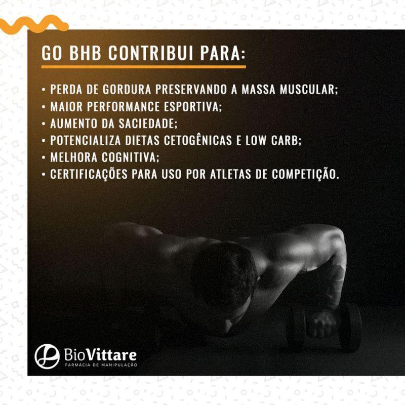 Go BHB 90g | Dieta Cetogênica, Emagrecimento
