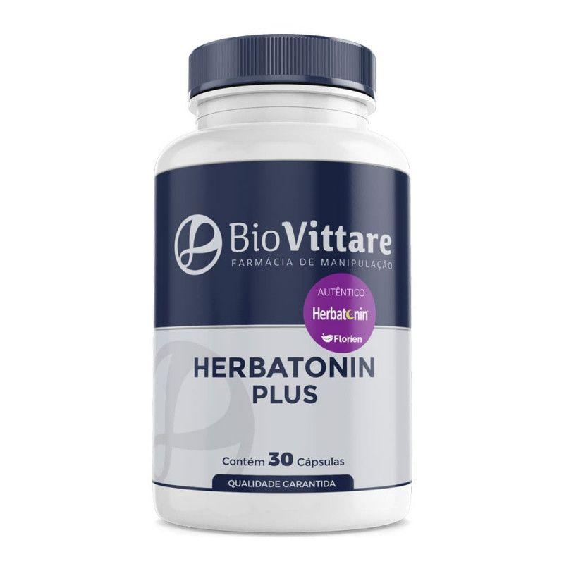 Herbatonin Plus 30 Cápsulas (FitoMelatonina + Passiflora, Melissa e Mulungu)