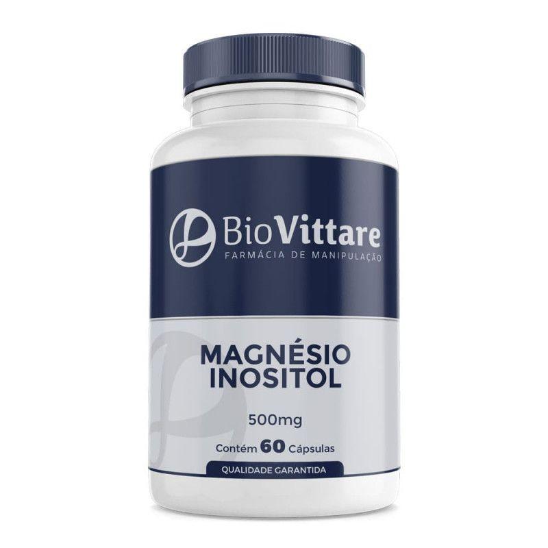 Magnésio Inositol 500mg 60 Cápsulas