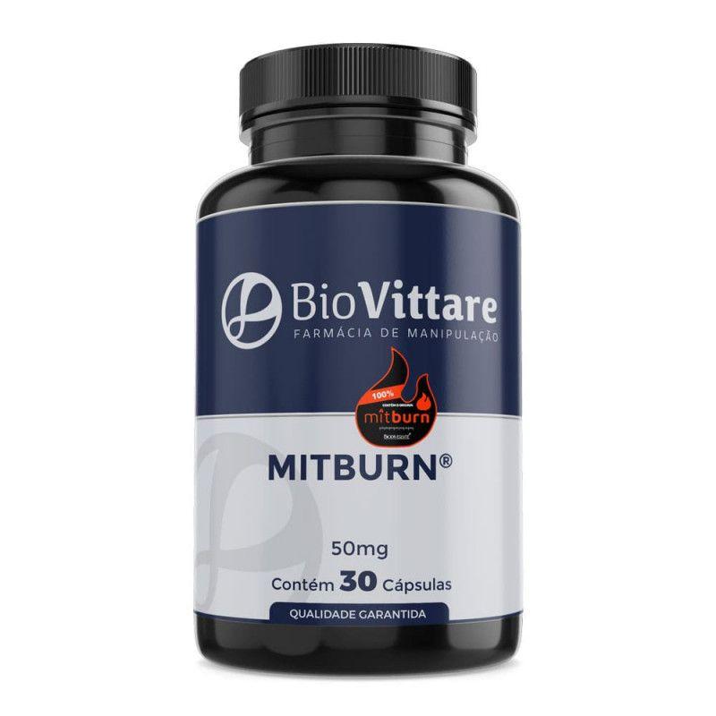 MITBurn 50mg 30 Cápsulas - A Revolução do Emagrecimento