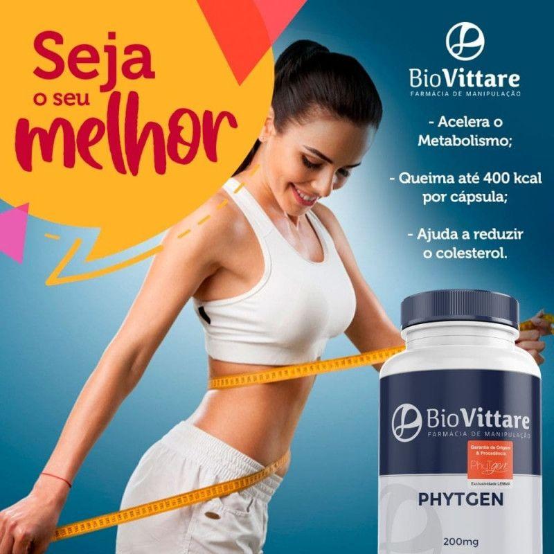PhyTgen® 200mg 30 Cápsulas – Supertermogênico Antiobesidade