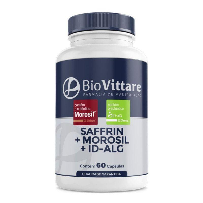 Saffrin + Morosil + ID-alG 60 Cápsulas | Emagrecimento e Bem-estar