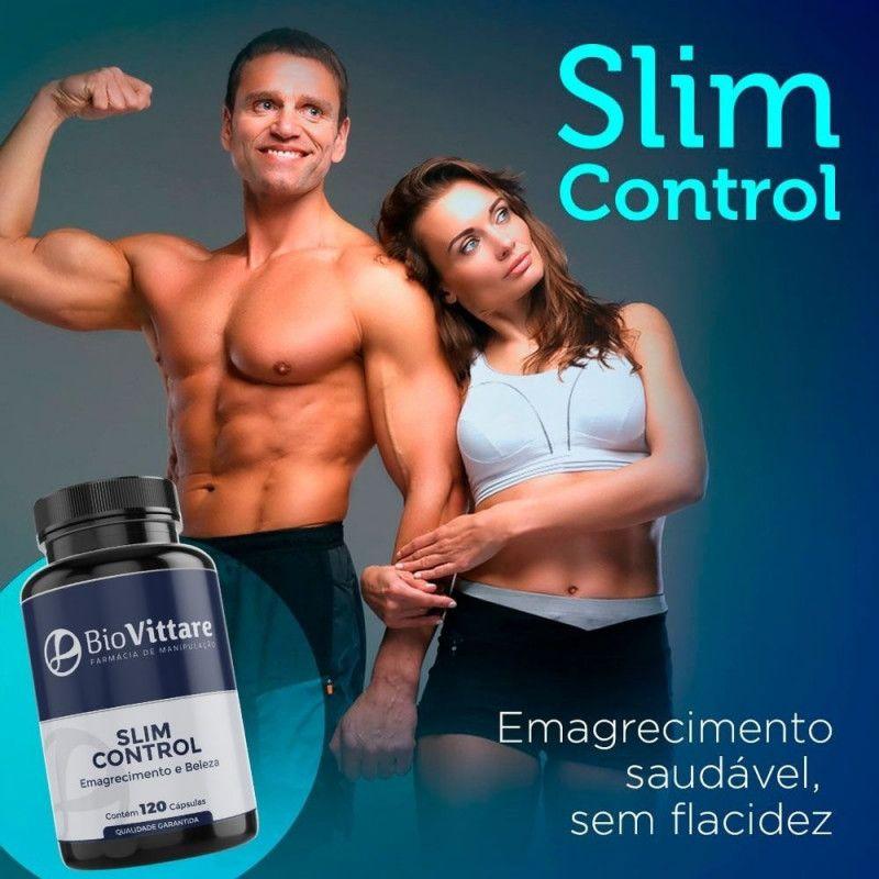 Slim Control 120 Cápsulas – Emagrecimento e Beleza