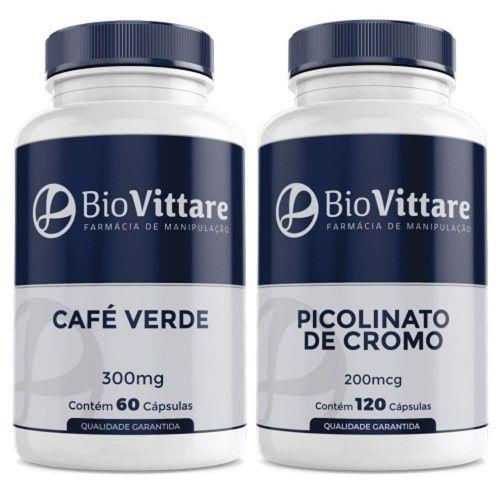 Combo Café Verde + Picolinato de Cromo