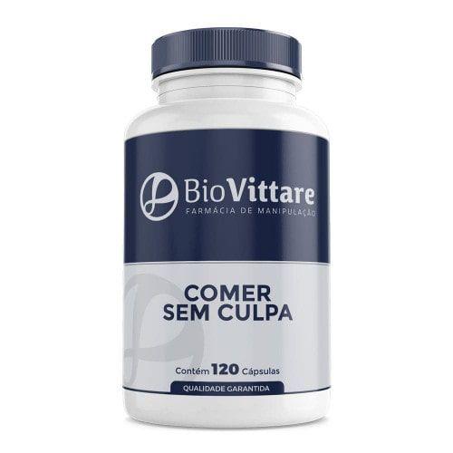 Comer Sem Culpa 120 Cápsulas – Bloqueador de Gorduras e Carboidratos com Faseolamina