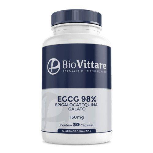 EGCG 98%  (Epigalocatequina Galato) 150mg 30 Cápsulas