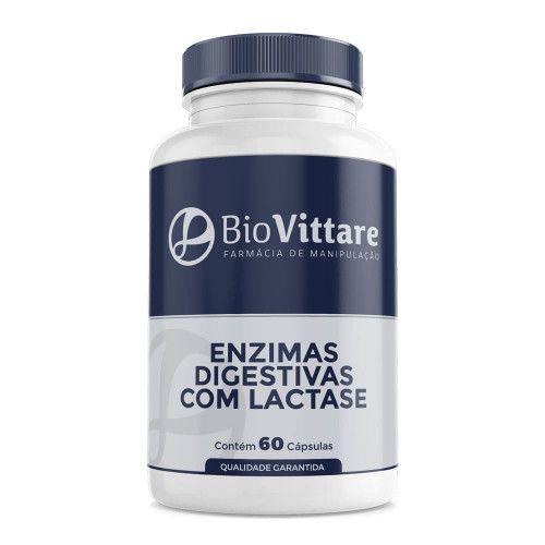 Enzimas Digestivas com Lactase – 60 Cápsulas