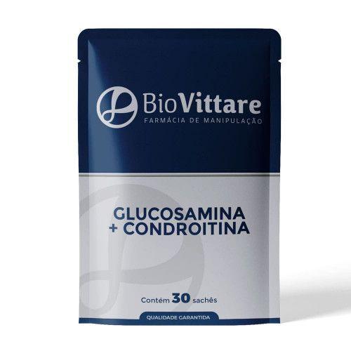 Glucosamina Com Condroitina 30 Sachês
