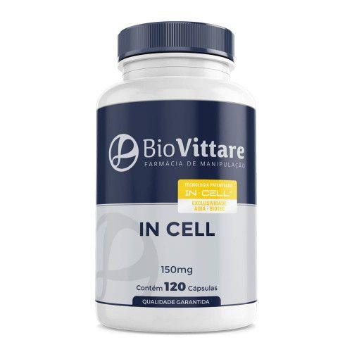 In Cell® 150mg 120 Cápsulas Com Selo de Autenticidade