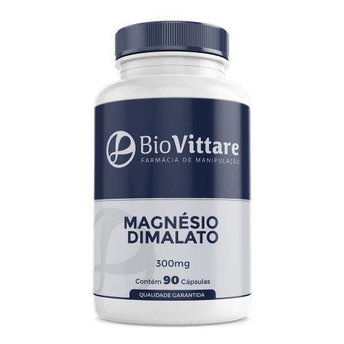 Magnésio Dimalato 300 mg 90 Cápsulas