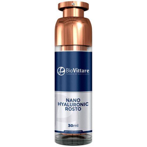 Nano Hyaluronic Rosto 30ml - Amenizador de Rugas com Ácido Hialurônico