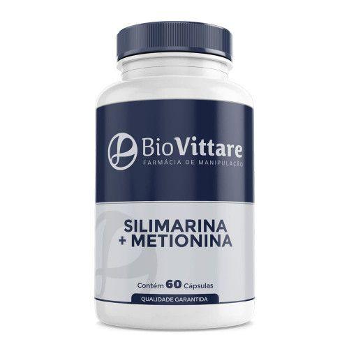 Silimarina 250mg + Metionina 120mg 60 Cápsulas – Saúde do Fígado