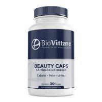 Beauty Caps 30 Doses – Anti-aging e Fortalecimento de Cabelos e Unhas